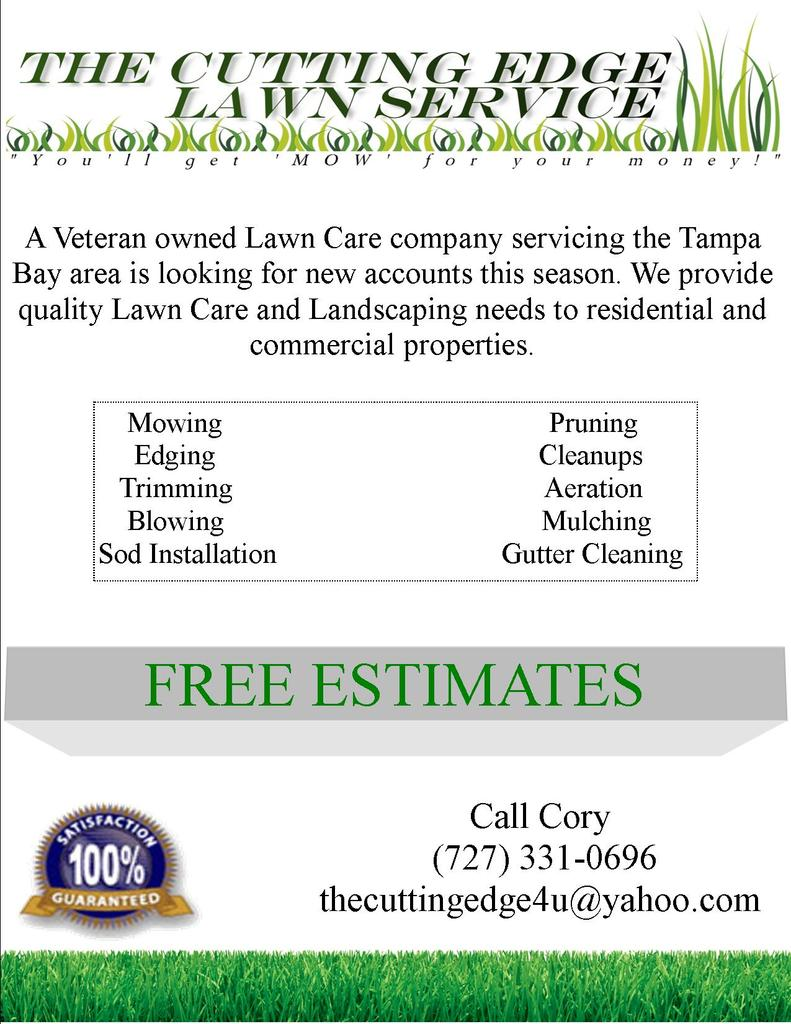 lawn care flyer templates gopherhaul landscaping lawn to do list flyer odt 216 8 kb 1 view