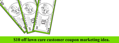 lawn care business coupon