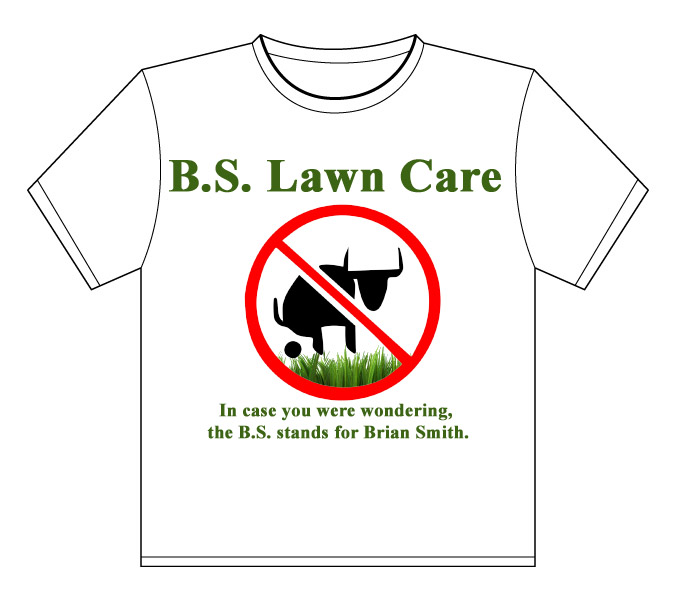 Would You Go With The Name B S Lawn Care Lawn Care