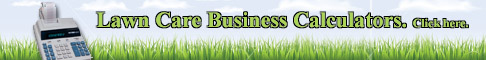 Lawn Care Business Calculator
