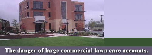 commercial lawn care accounts