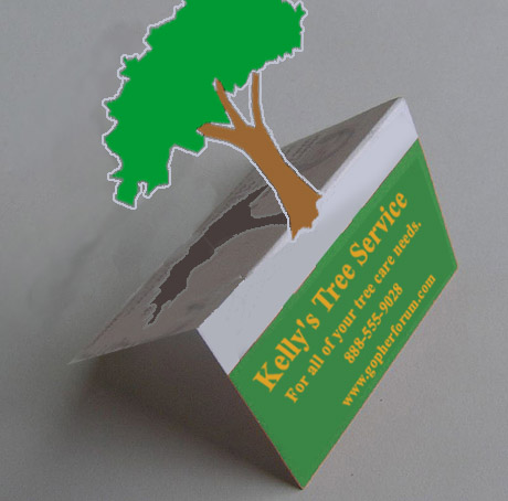 lawn care business card - Tree Service Business Cards