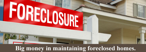 foreclosed home maintenance