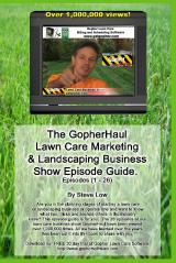 GopherHaul lawn care business book
