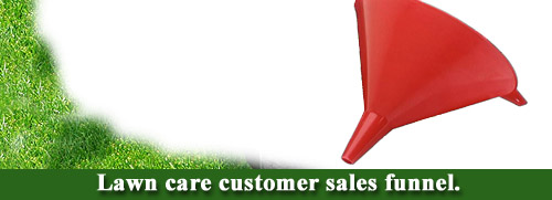 lawn care customer sales