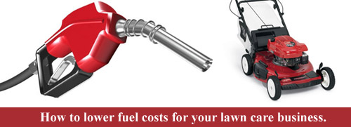 lawn mower fuel costs