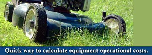 lawn care operational costs