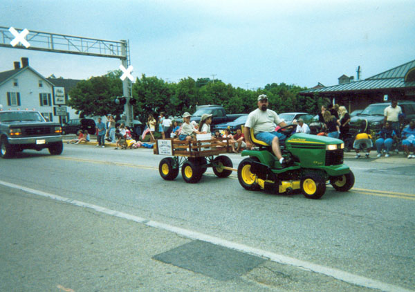 lawn care parade picture