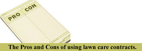 lawn care contracts