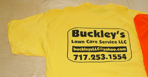 lawn care tshirt