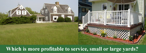 lawn care business yards