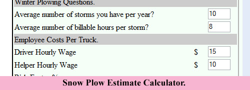 snow plow estimate calculator lawn care business marketing tips gopherhaul blog. Black Bedroom Furniture Sets. Home Design Ideas
