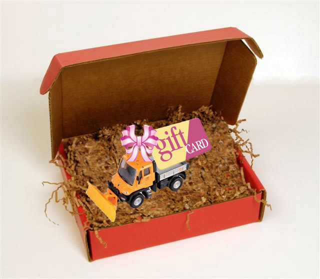 snow plow gift package